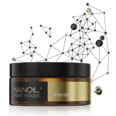 Keratynowa maska do włosów Nanoil
